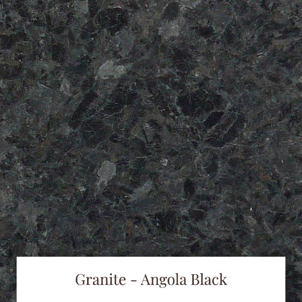 Angola Black Granite at South Yorkshire Marble