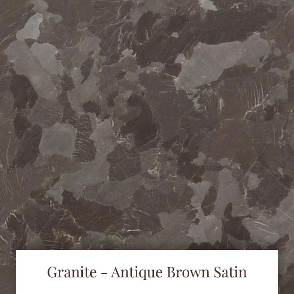Antique Brown Satin Granite at South Yorkshire Marble