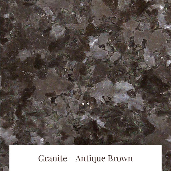 Antique Brown Granite at South Yorkshire Marble