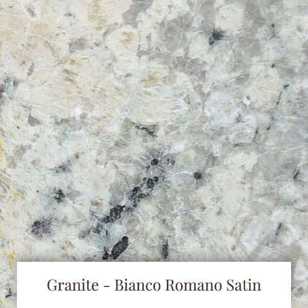 Bianco Romano Satin Granite at South Yorkshire Marble
