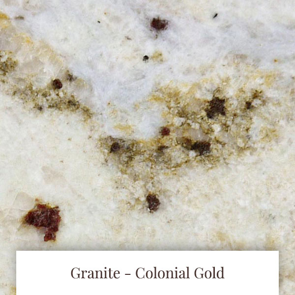Colonial Gold Granite at South Yorkshire Marble