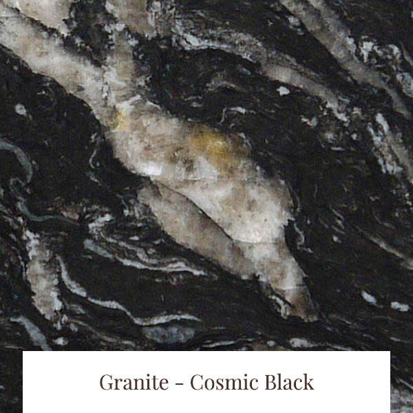 Cosmic Black Granite at South Yorkshire Marble
