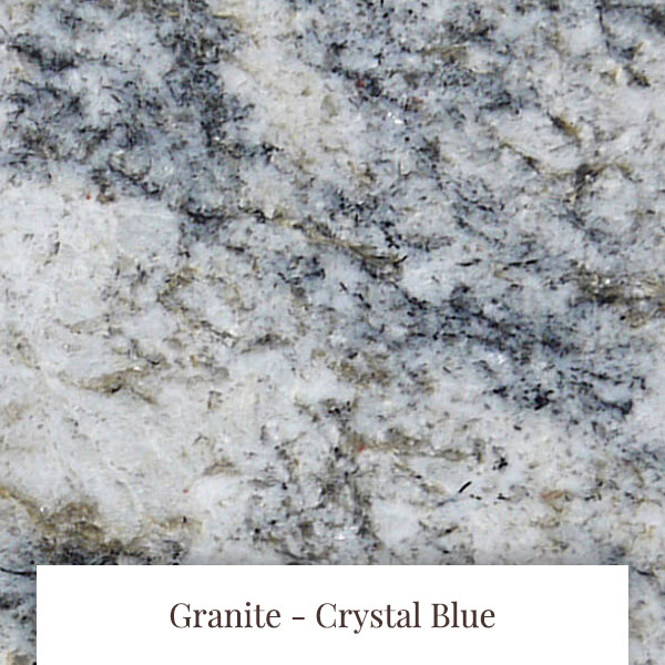 Crystal Blue Granite at South Yorkshire Marble