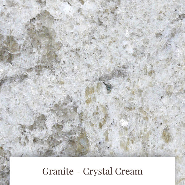 Crystal Cream Granite at South Yorkshire Marble