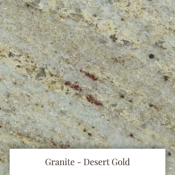 Desert Gold Granite at South Yorkshire Marble