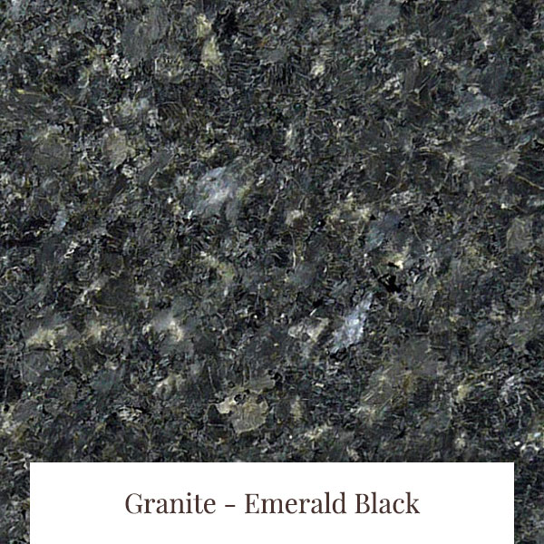 Emerald Black Granite at South Yorkshire Marble