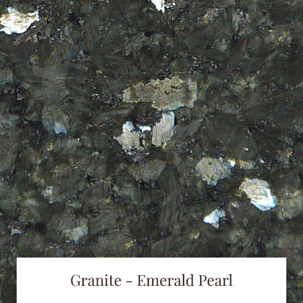 Emerald Pearl Granite at South Yorkshire Marble