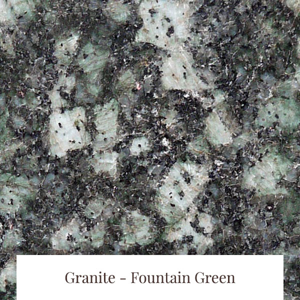 Fountain Green Granite at South Yorkshire Marble