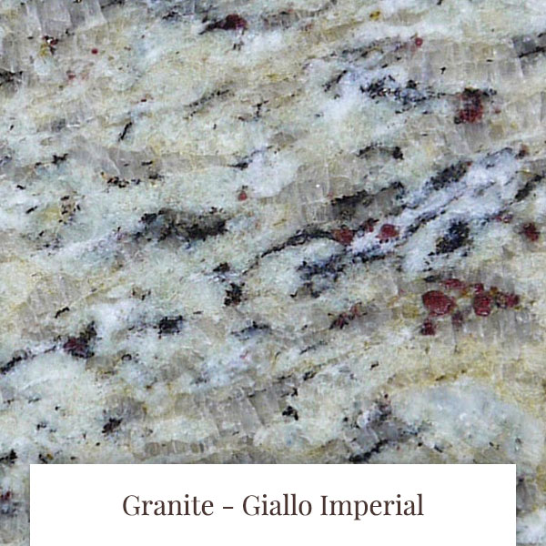 Giallo Imperial Granite at South Yorkshire Marble