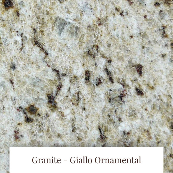 Giallo Ornamental  Granite at South Yorkshire Marble