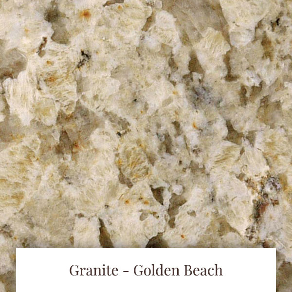 Golden Beach Granite at South Yorkshire Marble