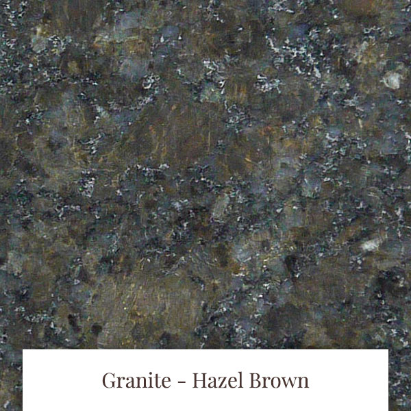 Hazel Brown Granite at South Yorkshire Marble