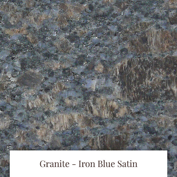 Iron Blue Satin Granite at South Yorkshire Marble