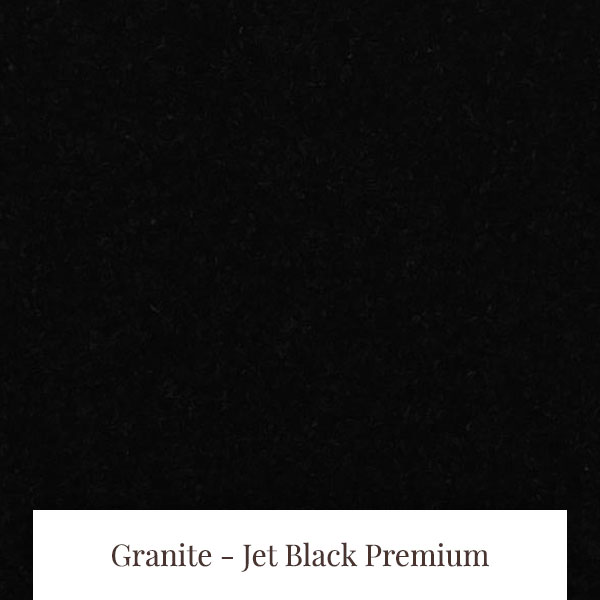 Jet Black Premium Granite at South Yorkshire Marble