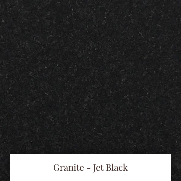 Jet Black Granite at South Yorkshire Marble