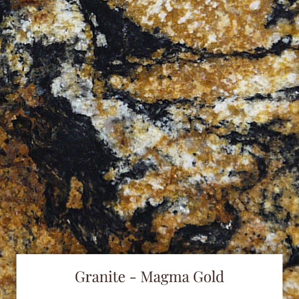 Magma Gold Granite at South Yorkshire Marble