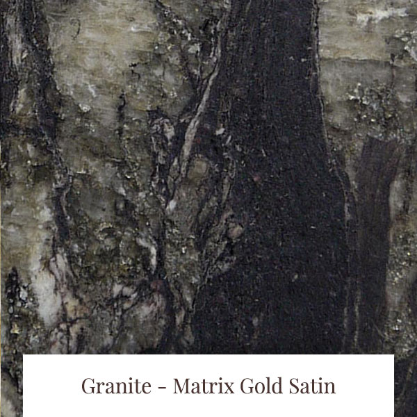 Matrix Gold Satin Granite at South Yorkshire Marble