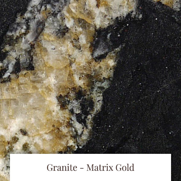 Matrix Gold Granite at South Yorkshire Marble