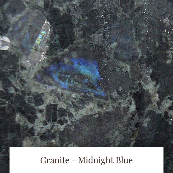 Midnight Blue Granite at South Yorkshire Marble