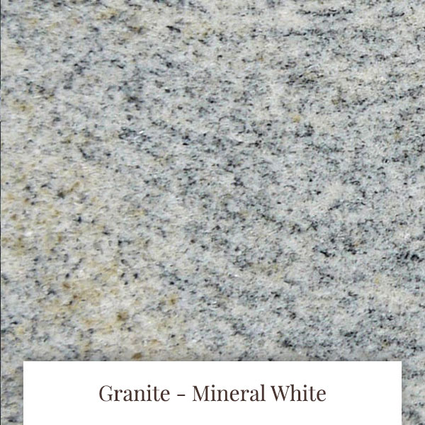 Mineral White Granite at South Yorkshire Marble