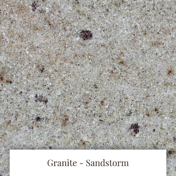 Sandstorm Granite at South Yorkshire Marble