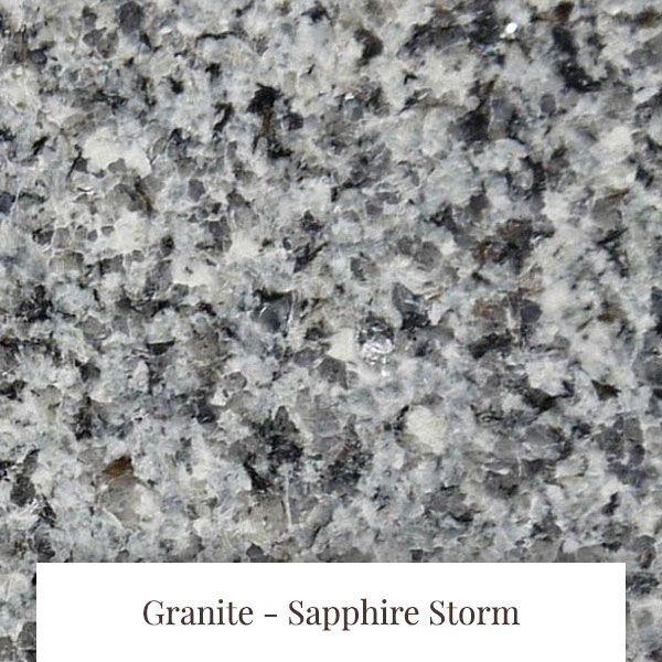 Sapphire Storm Granite at South Yorkshire Marble