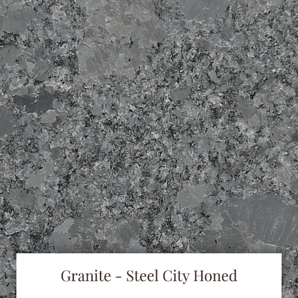 Steel City Honed Granite at South Yorkshire Marble