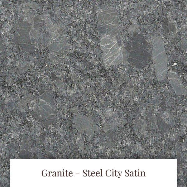 Steel City Satin Granite at South Yorkshire Marble
