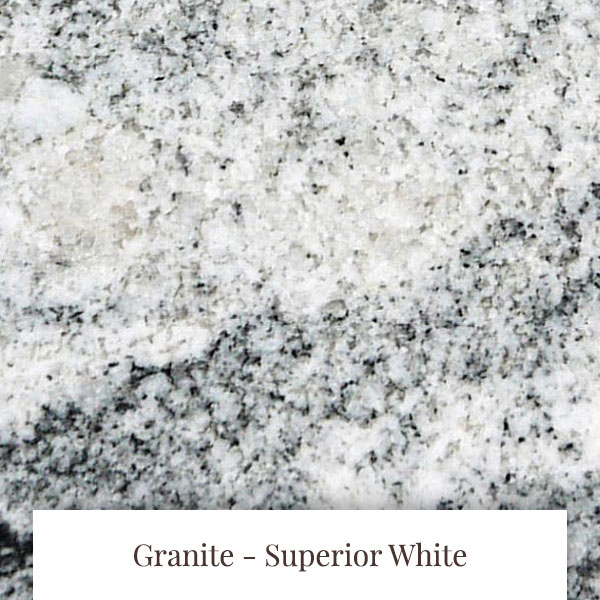 Superior White Granite at South Yorkshire Marble