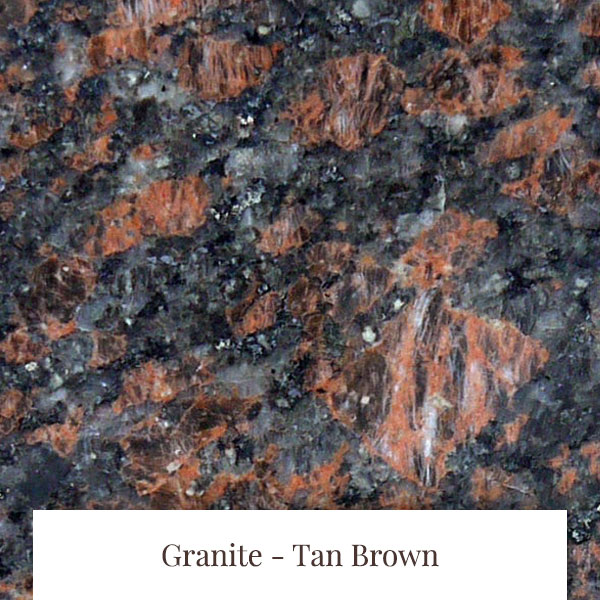 Tan Brown Granite at South Yorkshire Marble
