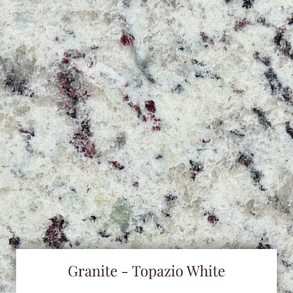 Topazio White Granite at South Yorkshire Marble