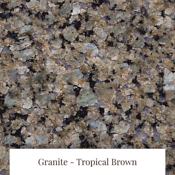 Tropical Brown Granite at South Yorkshire Marble