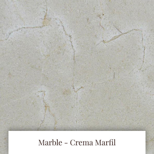 Crema Marfil Marble at South Yorkshire Marble