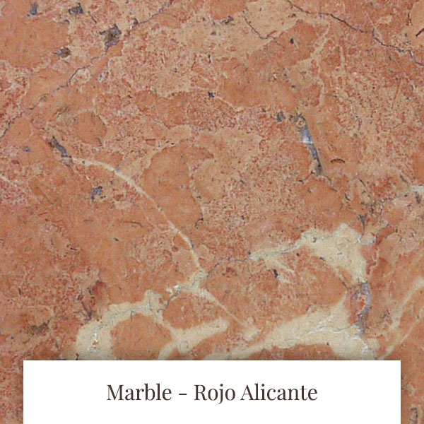 Rojo Alicante Marble at South Yorkshire Marble