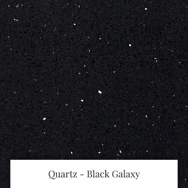 Black Galaxy Quartz at South Yorkshire Marble