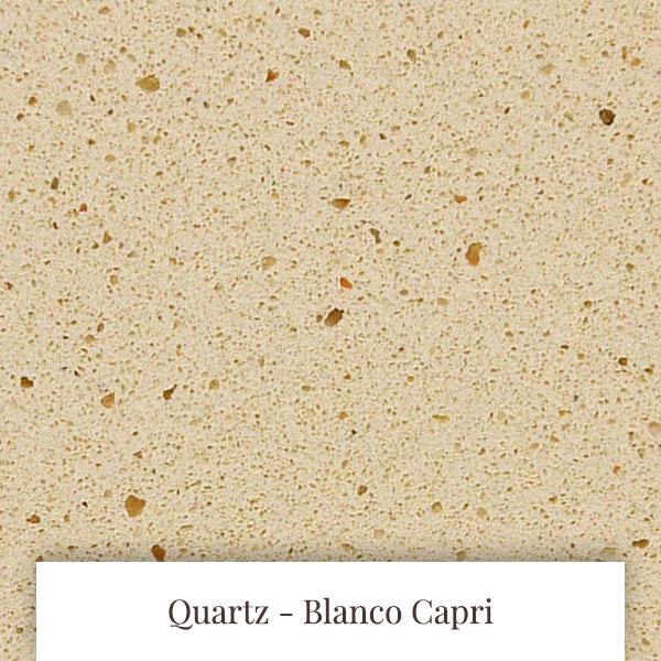 Blanco Capri Quartz at South Yorkshire Marble