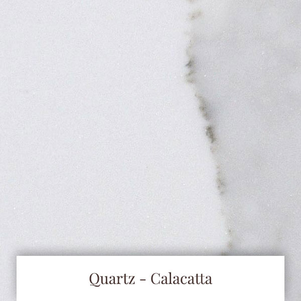 Calacatta Quartz at South Yorkshire Marble