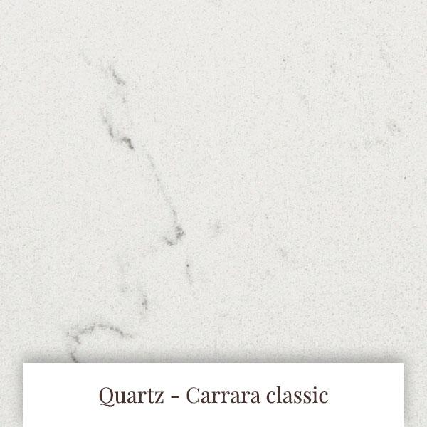 Carrara Classic Quartz at South Yorkshire Marble