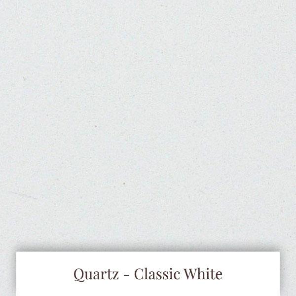 Classic White Quartz at South Yorkshire Marble