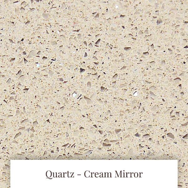 Cream Mirror Quartz at South Yorkshire Marble