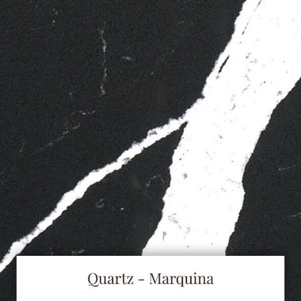 Marquina Quartz at South Yorkshire Marble