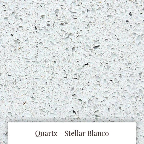 Stellar Blanco Quartz at South Yorkshire Marble