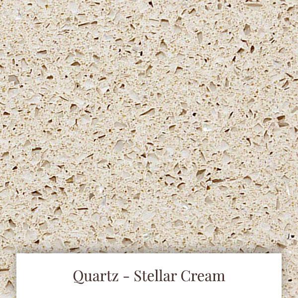 Stellar Cream Quartz at South Yorkshire Marble