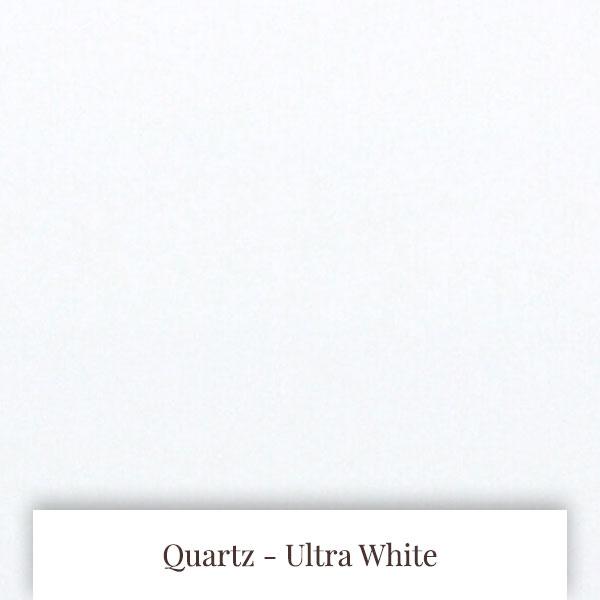 Ultra White Quartz at South Yorkshire Marble