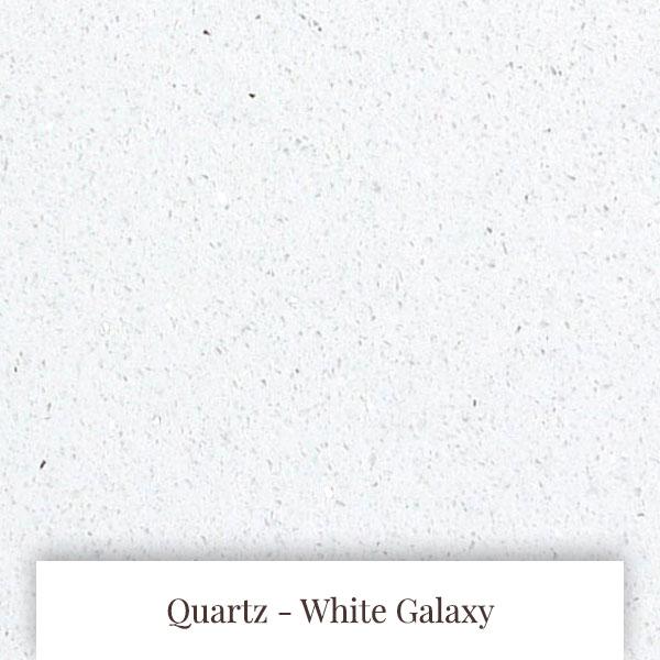 White Galaxy Quartz at South Yorkshire Marble