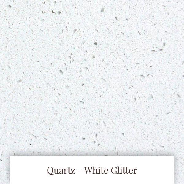 White Glitter Quartz at South Yorkshire Marble
