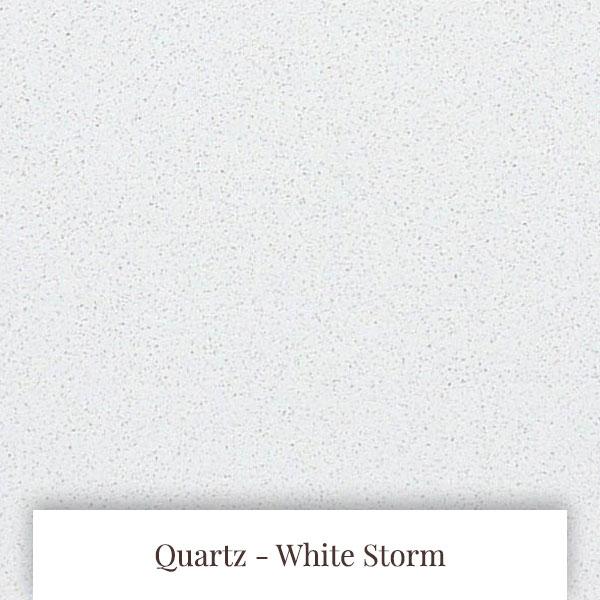 White Storm Quartz at South Yorkshire Marble