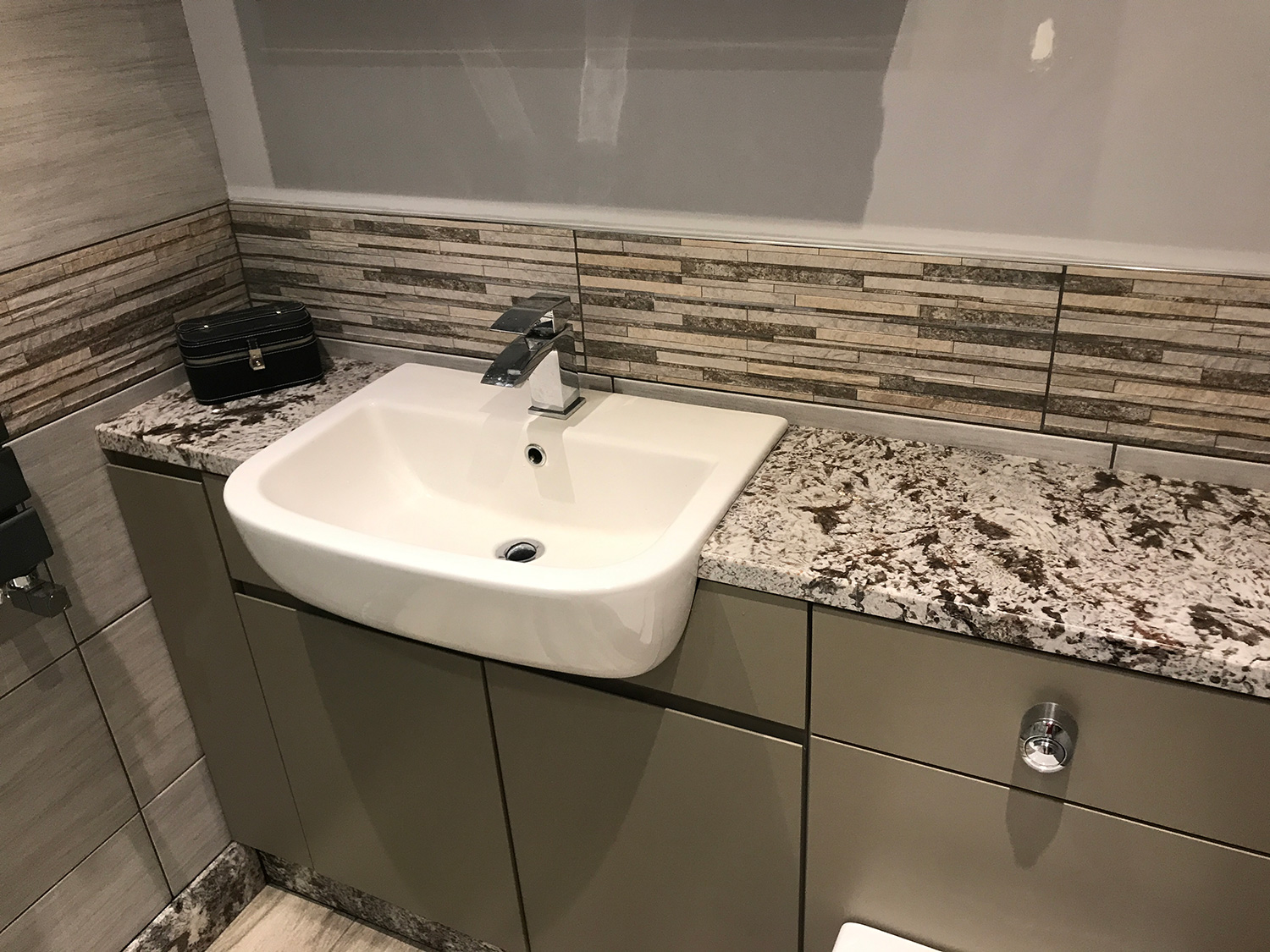 Glacier Granite Bathroom