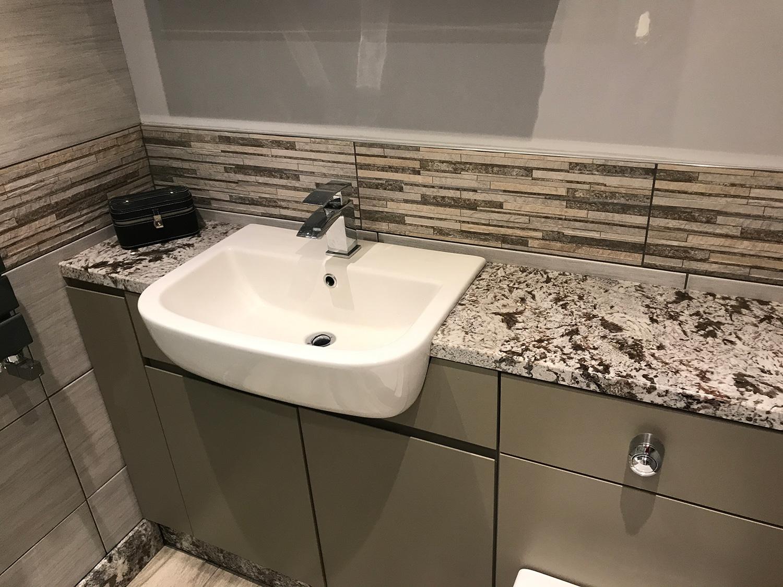 Glacier Granite Bathroom