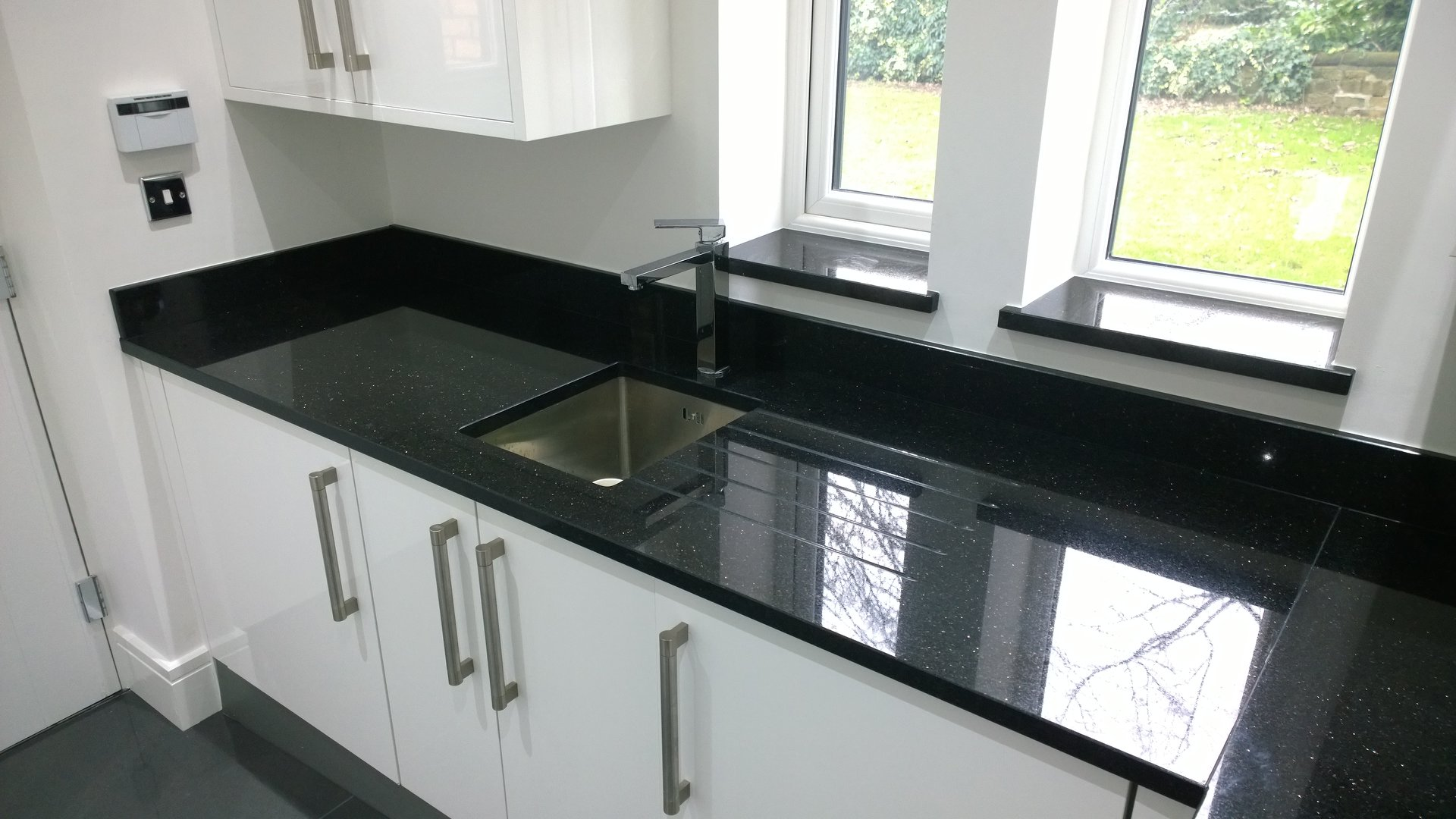 Star Galaxy Granite Kitchen